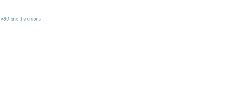 CASE 1 V&D and the unions The conflict: to stave off bankruptcy in early 2015 high street retailer V&D wanted to structurally lower the salaries of its employees by 5,8%. The unions refused and initiated summary proceedings to stop V&D. The result: the court in preliminary judgement enjoined V&D from lowering the salaries and V&D appealed. The court of appeal gave the parties three weeks to solve their dispute in mediation. If no solution was reached, the court would render its decision on whether V&D could lower the salaries. The solution: in mediation V&D and the unions agreed, inter alia, to a reorganization costing 400 jobs, implementation of a social plan for the employees involved, and a collective agreement for all other employees. Comment (daily newspaper De Volkskrant): 'The agreement seems to end the trench warfare that the V&D board and the unions have fought since January.'